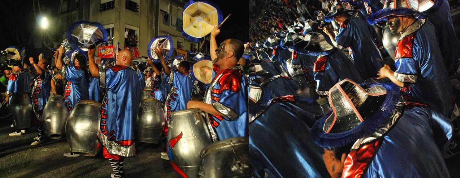Desfile de Llamadas.Sinfonía de Ansina.. Montevideo. 2011.
