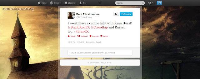 BrandX Social tweet image