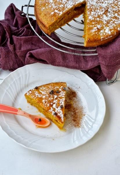 torta allecarote,con pepe, cannella e zenzero