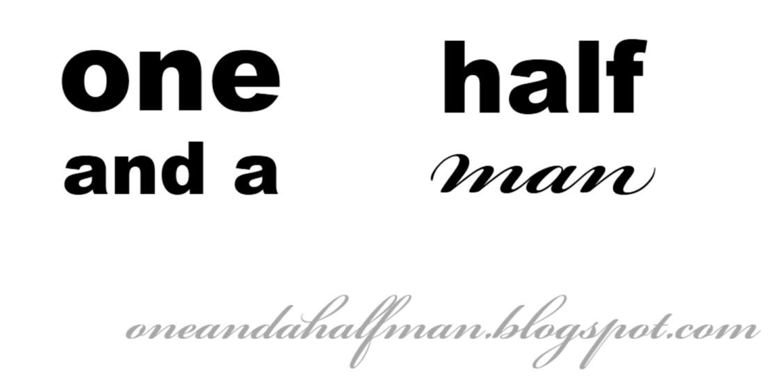 one & a half man