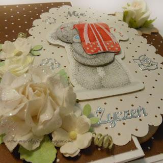 kartka urodzinowa, z-fold card kartki okolicznościowe ręcznie robione