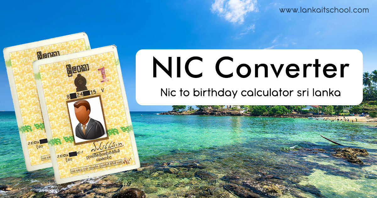 Nic to birthday calculator