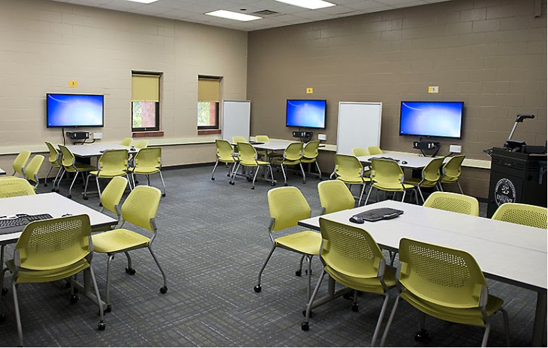 Collaborative Classroom Setup ~ Active collaborative learning in higher ed