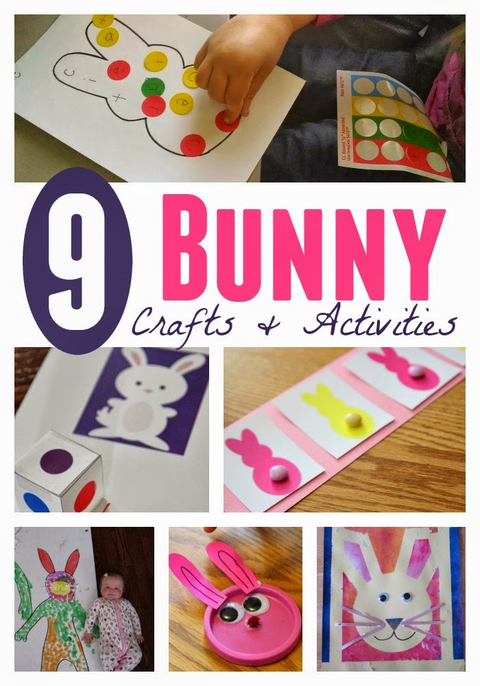 Toddler Approved!: 9 Bunny Crafts and Activities for Toddlers and ...