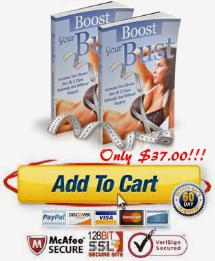 How to Increase Breast Size in a Couple of Weeks Book