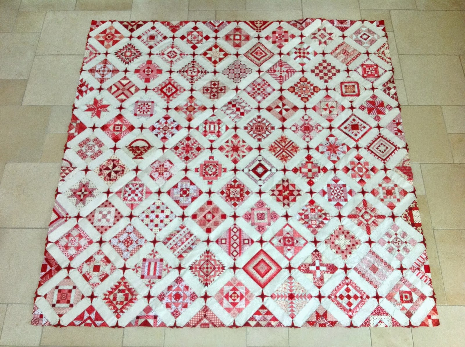 Nearly Insane Quilt - November 2014 update