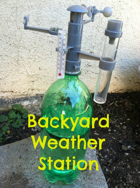 Backyard weather station