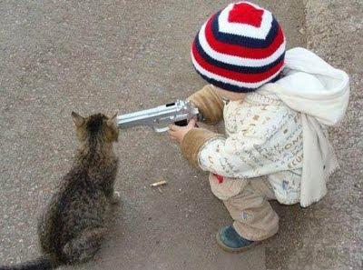 jugando+con+un+arma Imagenes de animales Divertidos
