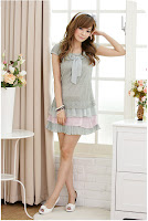 Pakaian model Korea