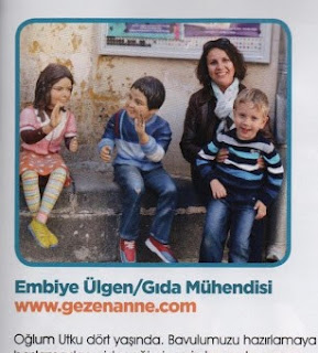 GezenAnne Bebeğimle Elele dergisinde