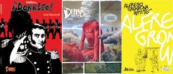 Ediciones de La Duendes en papel, títulos 25 a 27