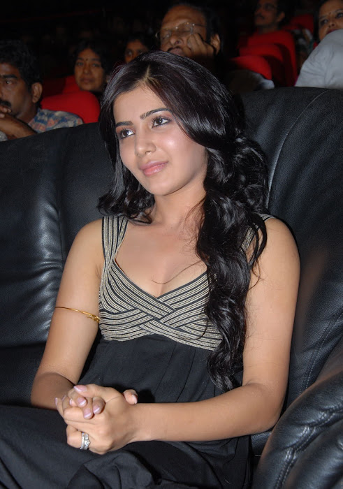 samantha at bus stop audio launch glamour  images