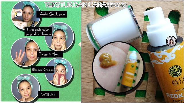 Pemakaian REDKANK Facial Wash