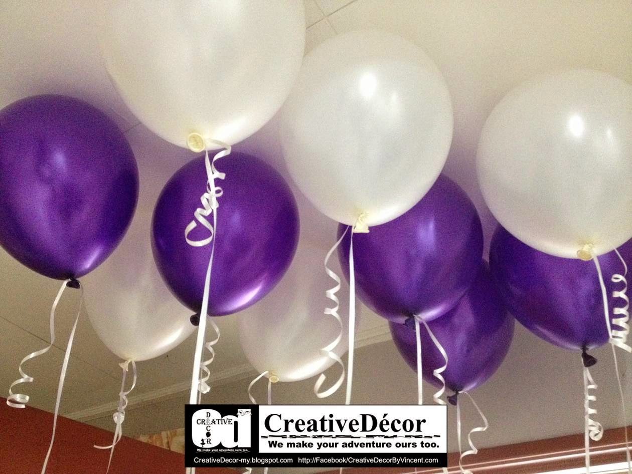 Creatived cor by vincent product ceiling balloon decoration for Balloon decoration for ceiling
