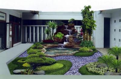 Rumah Kecil Cantik Minimalis Taman Rumah Minimalis Cantik