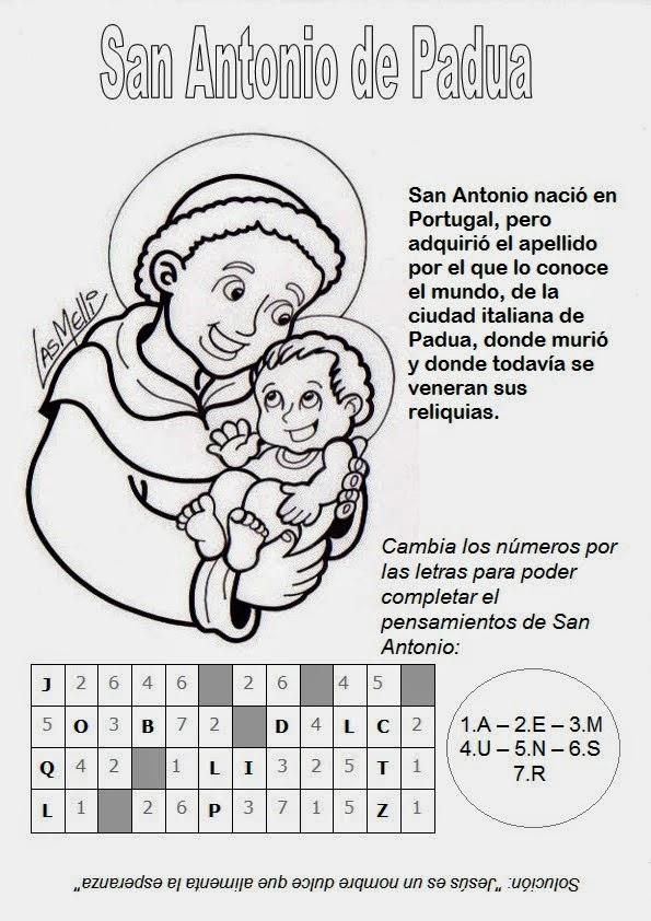 Gifs y Fondos Paz enla Tormenta ®: SAN ANTONIO DE PADUA PARA ...