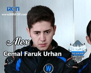 Foto Cemal Faruk Urhan sebagai Alex di Anak Jalanan RCTI