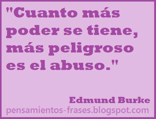 frases de Edmund Burke