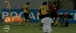 AFC Champions League, bomb, explosive, Iranian Sepahan, Arabia's Al-Ahli