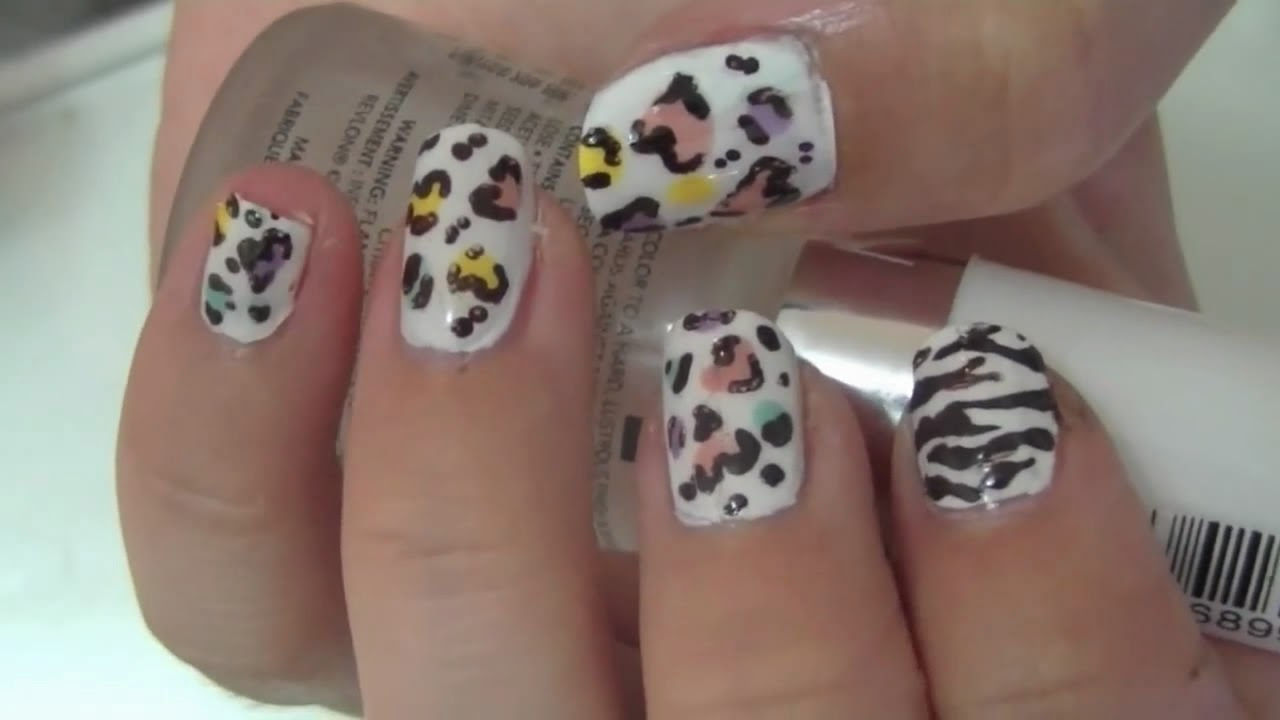 Nails Easy Fun With Heart Shaped Arts