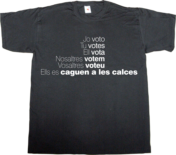 catalonia catalan independence freedom referendum 9n spain is different t-shirt ephemeral-t-shirts