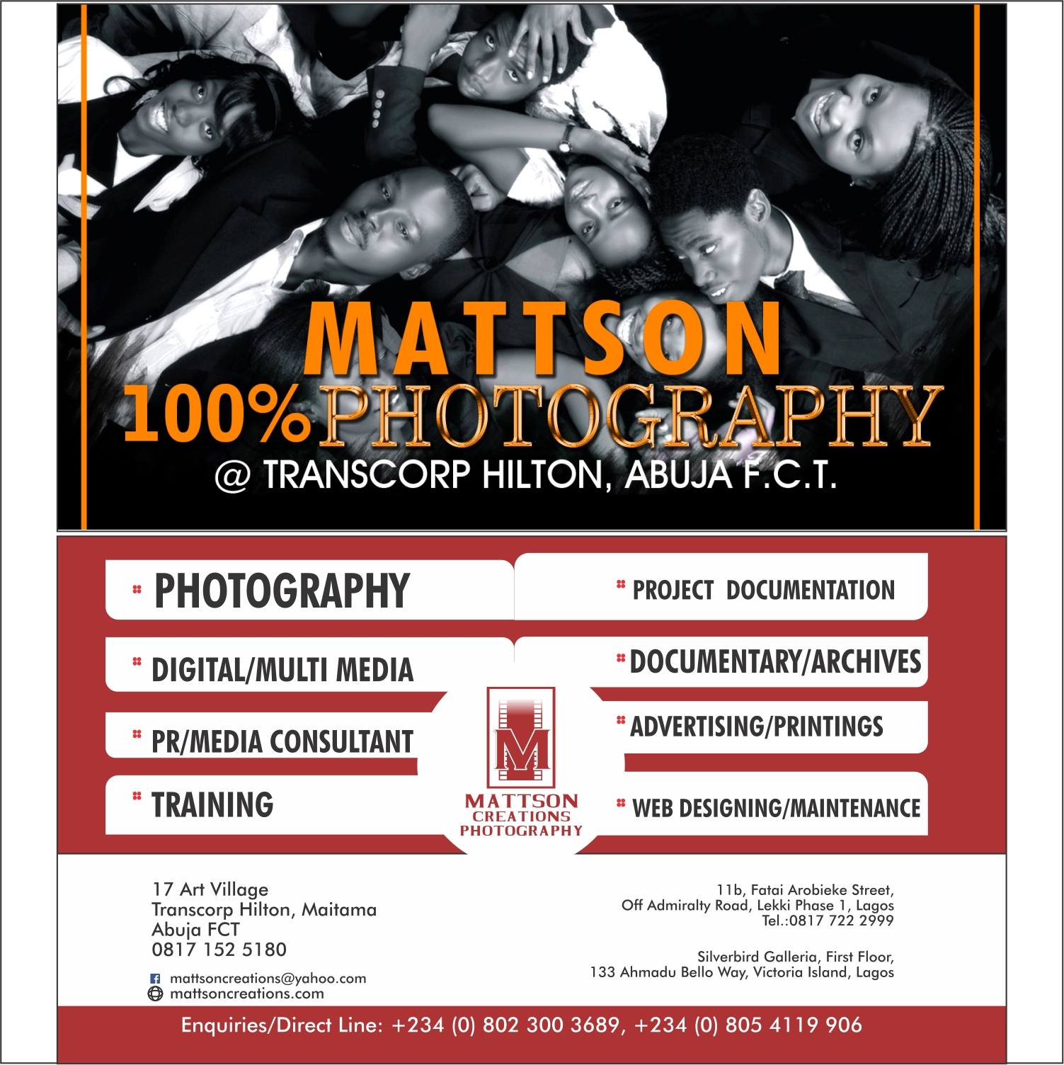 MATTSON CREATION PHOTOGRAPHY