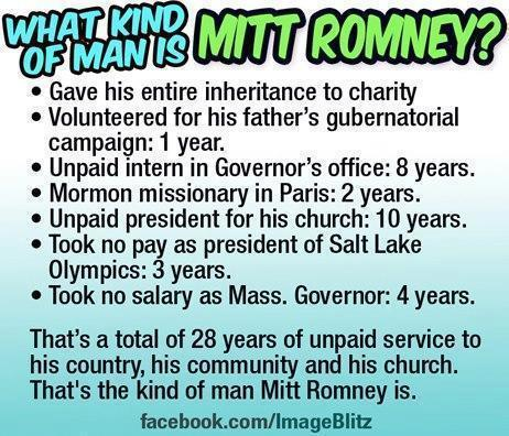 What kind of man is Mitt Romney?