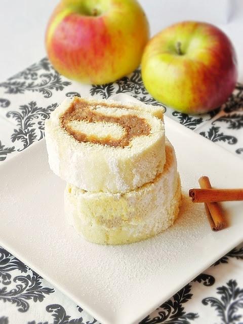 Rulada cu mere