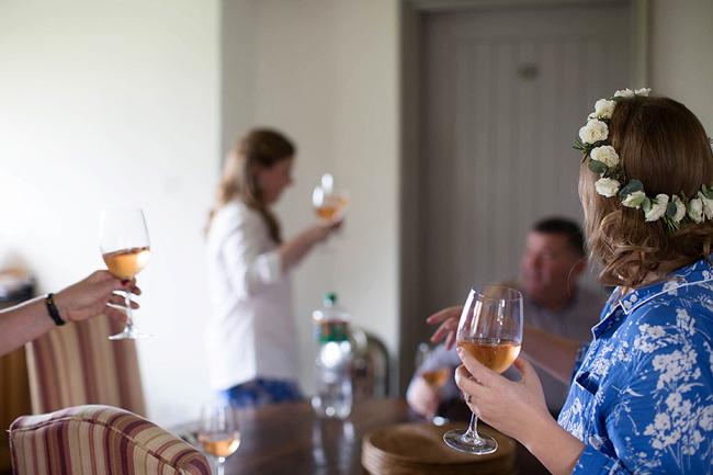 Wedding Photography Doonbeg Ireland, bridal floral crown