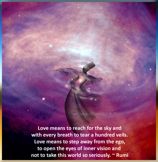 Quotes About Love Rumi : Rumi - If anyone asks, But what is love?