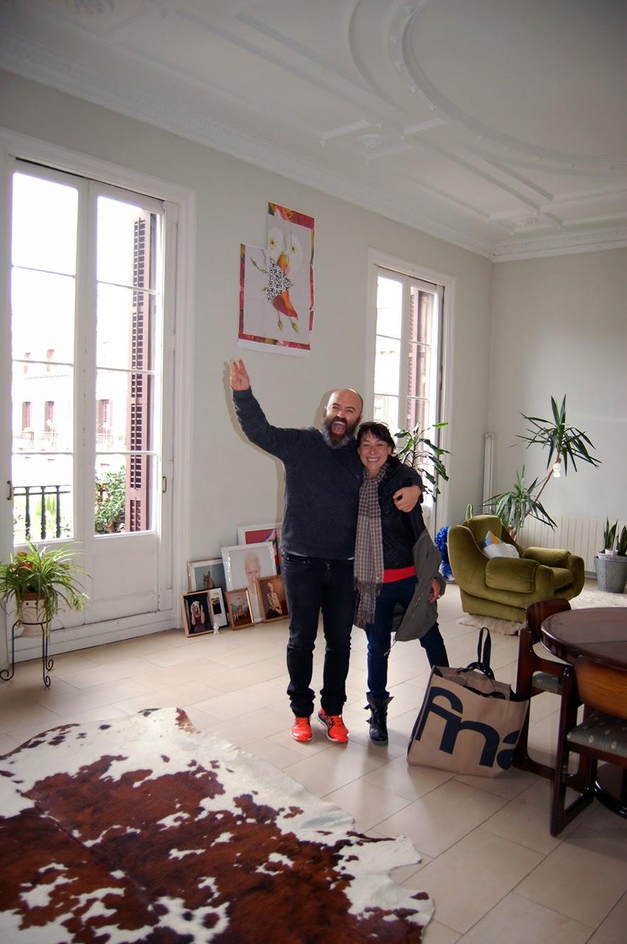Un D A En La Casa De Carlitos Y Patricia Mireia Vine A