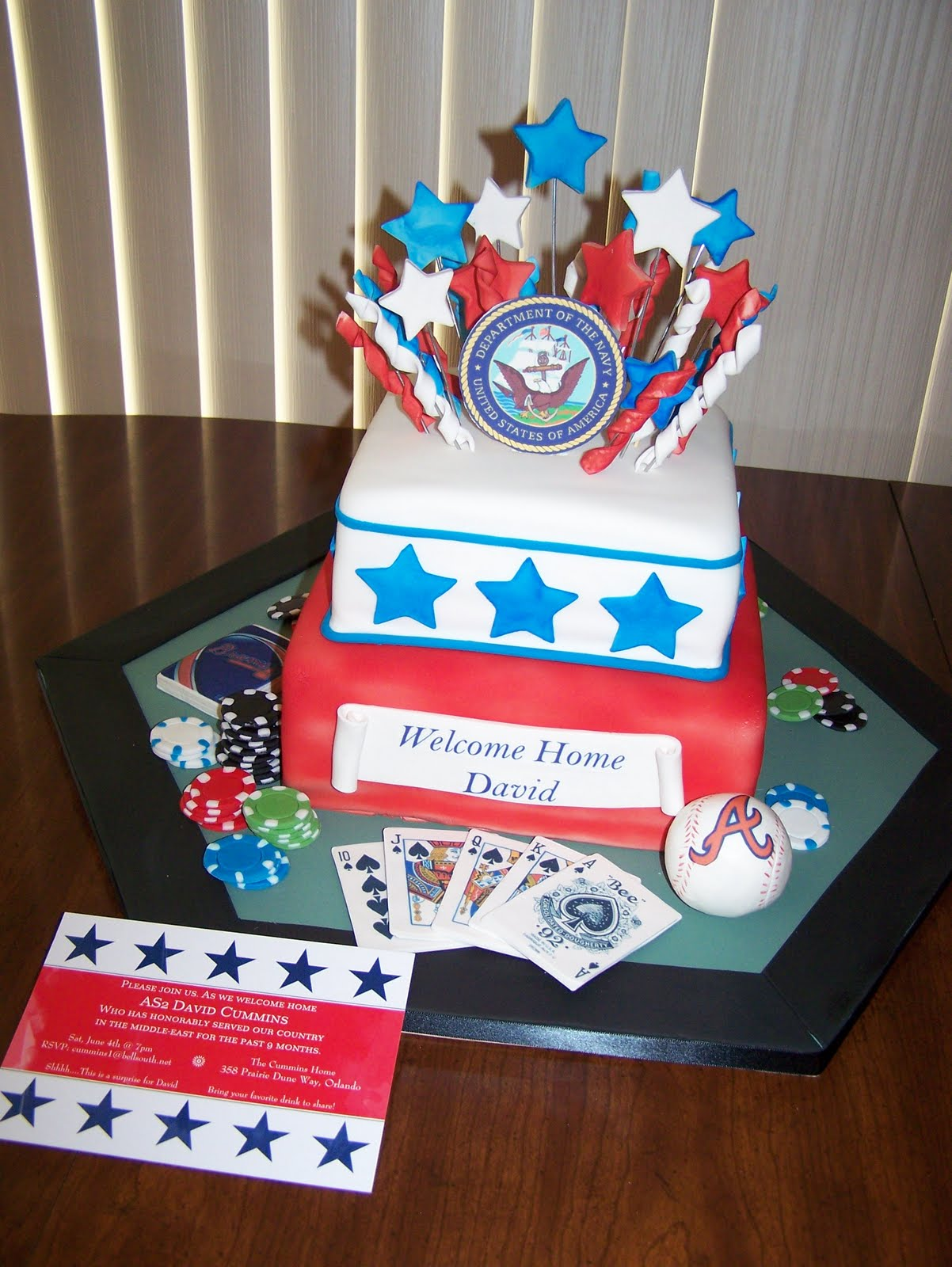 Wendy Woo Cakes: A Soldiers Homecoming!