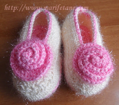 Açiklamali Çift Taban Bebek Patik Ayakkabı