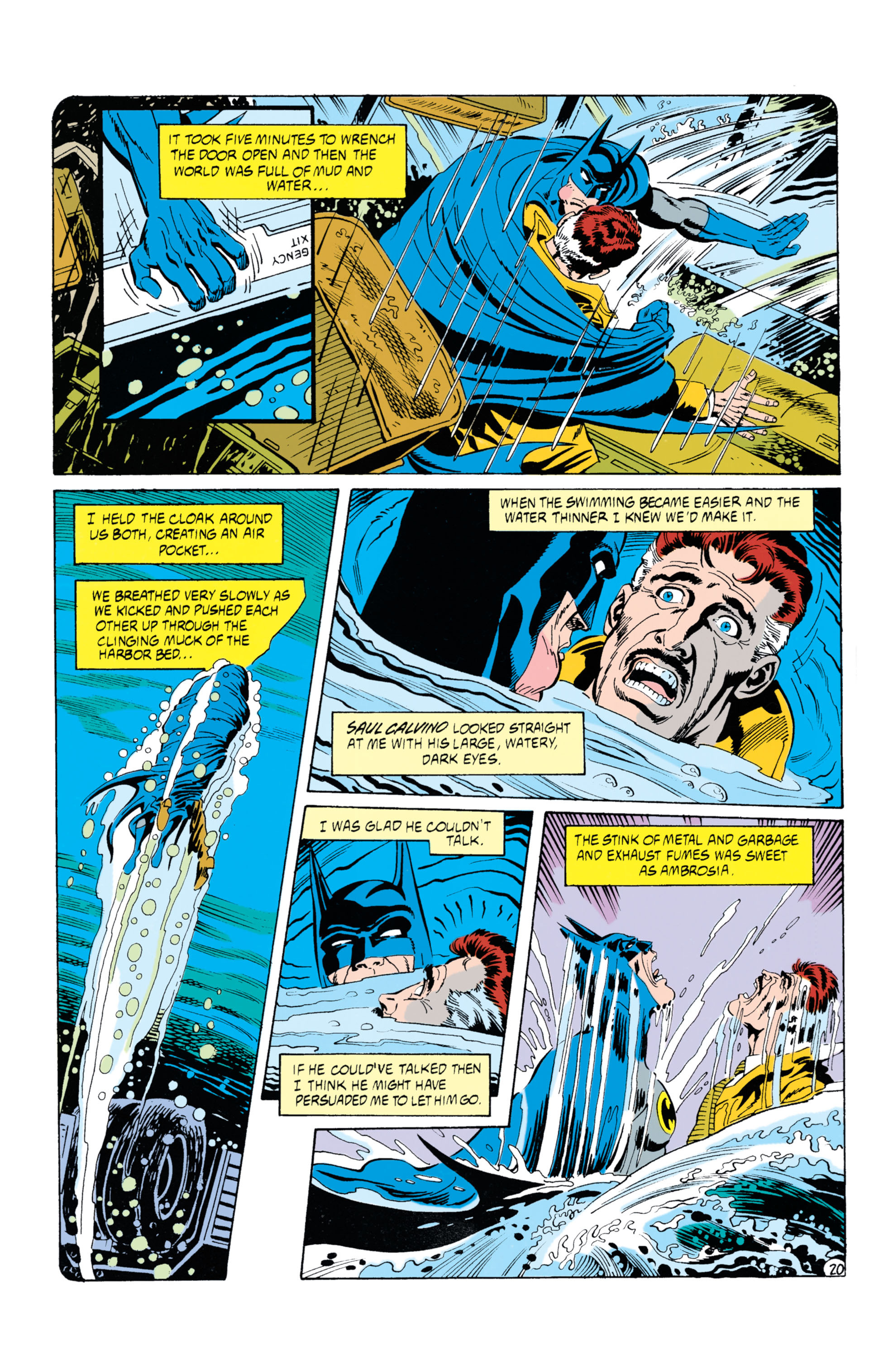 Detective Comics (1937) Issue #630 Page 21