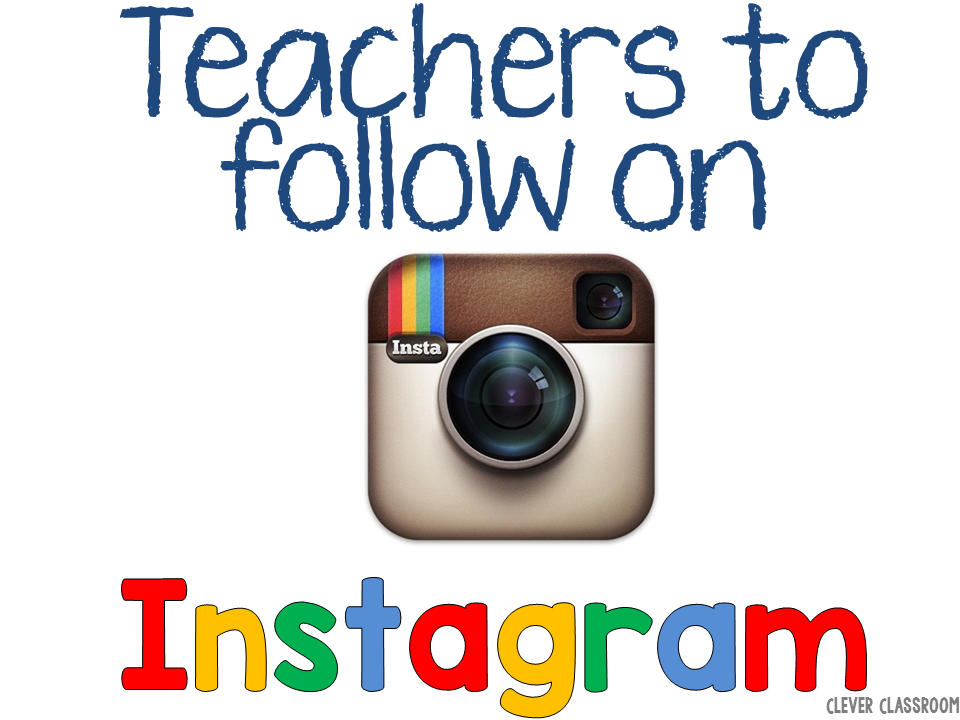 Teachers to follow on Instagram