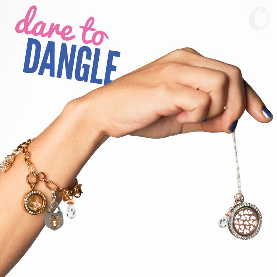 Origami Owl Dare to Dangle Bracelet available at StoriedCharms.com