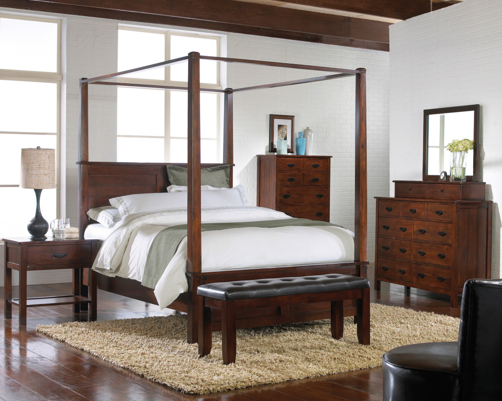 Antique furniture and canopy bed steps to take care of for Home furniture beds