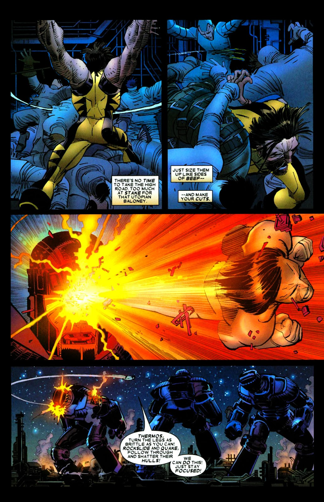 Read online Wolverine (2003) comic -  Issue #28 - 17