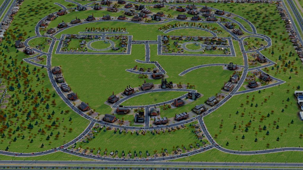 Как можно построить город в SimCity - развлекаемся