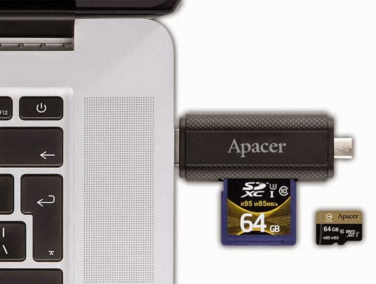 Apacer AM702 OTG Card Reader