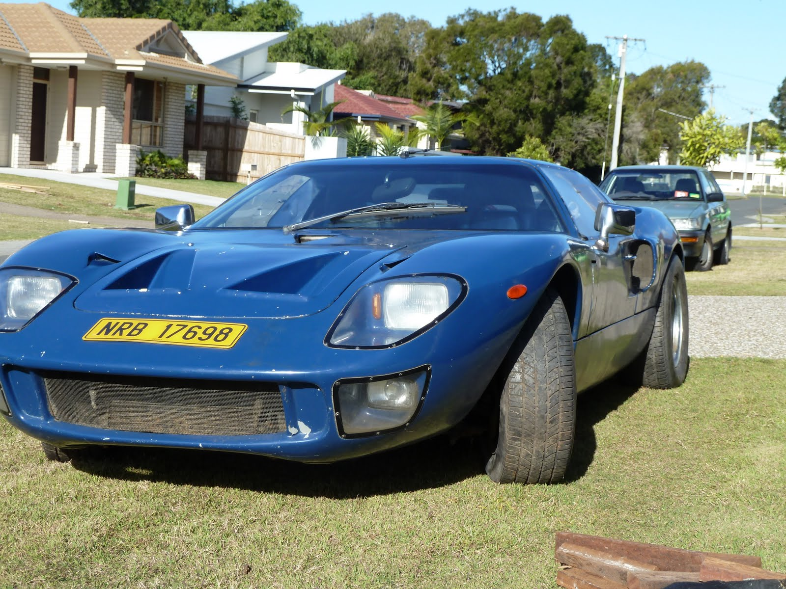 restore this GT40 replica.