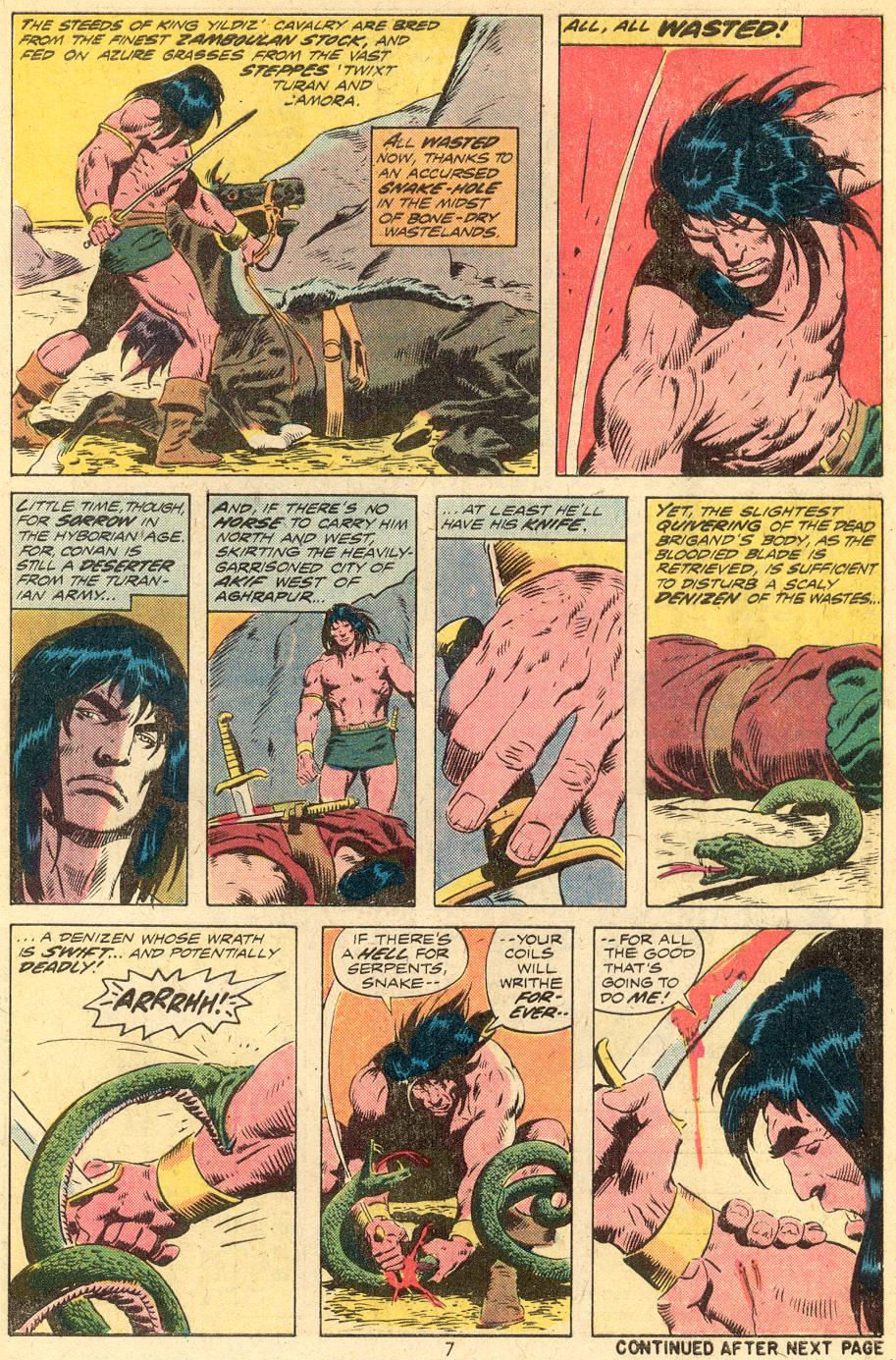 Conan the Barbarian (1970) Issue #39 #51 - English 6