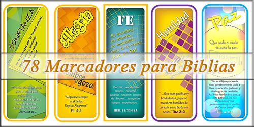 Colección de Marcadores para Biblia