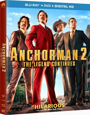 Anchorman 2: The Legend Continues (2013) UNRATED 720p BDRip Dual Espa�ol Latino-Ingl�s
