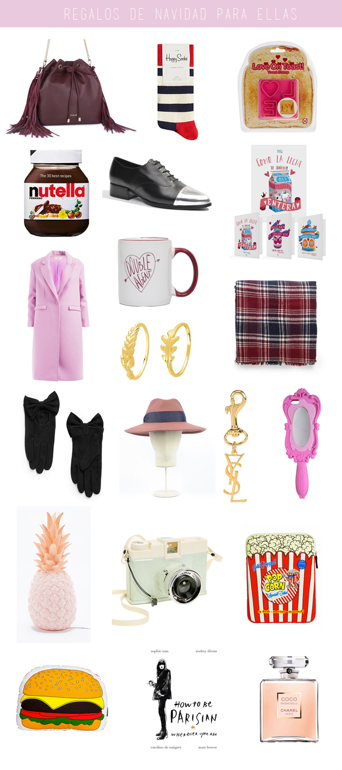 All that she wants blog de moda ideas regalos de - Ideas para regalo de navidad ...