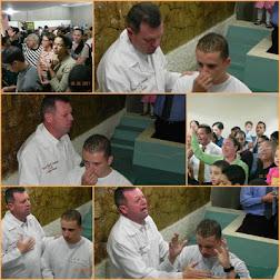 Batismo do Thiago