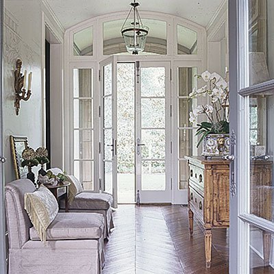 Designs for daley living wowing your entry and foyer for French front door designs