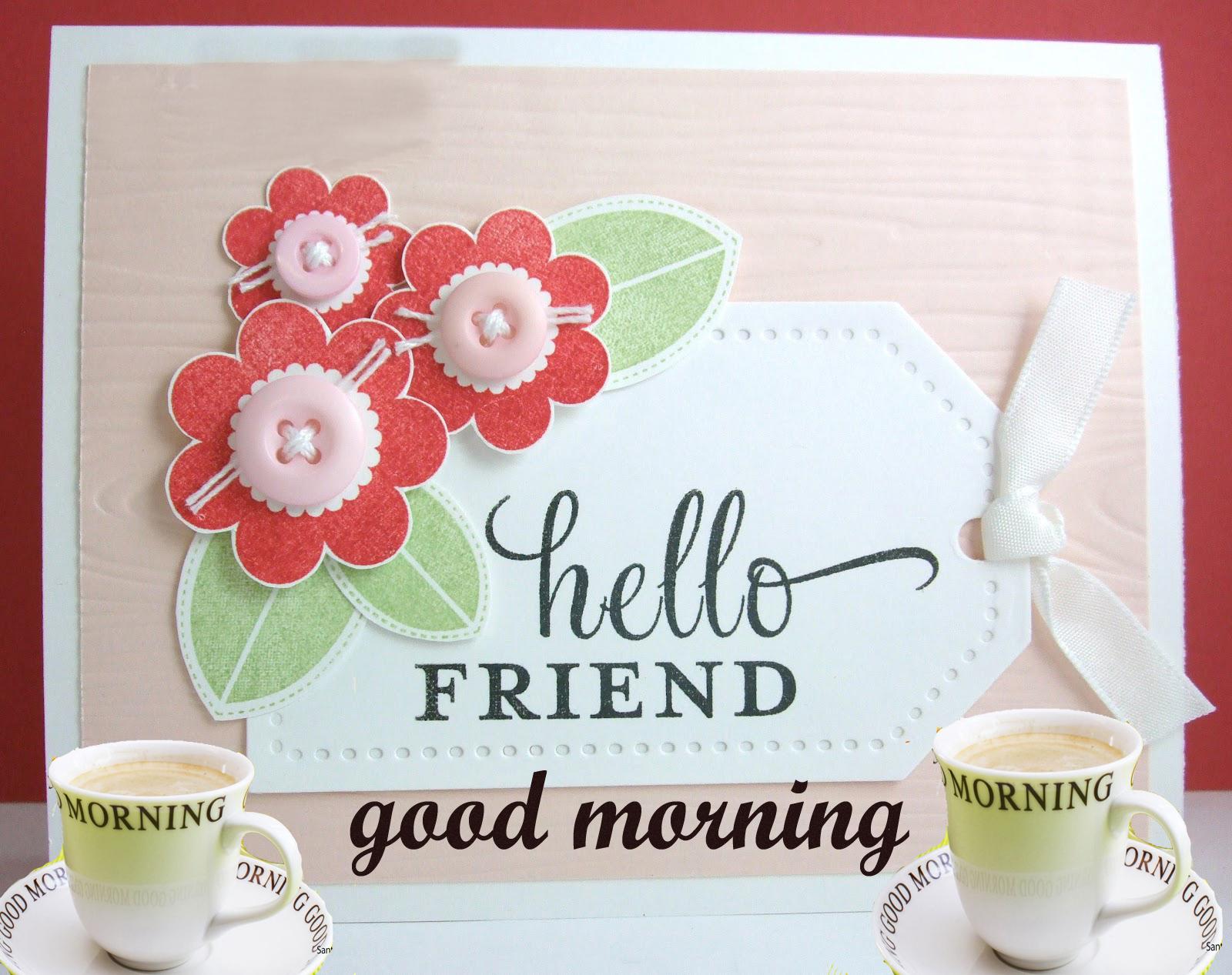 Good Morning Friends HD Wallpaper