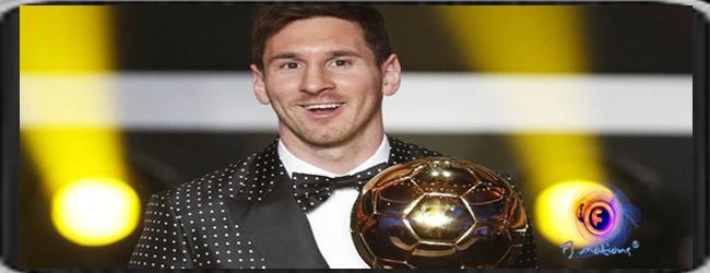 Trophy Messi