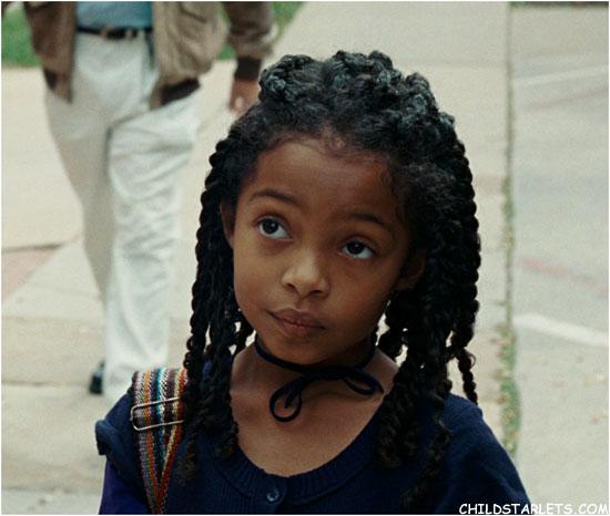 Black Family Of  Cartoon Natural Hair